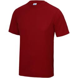 Textil Criança T-Shirt mangas curtas Awdis JC01J Vermelho Fogo