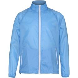 Textil Homem Corta vento 2786 TS011 Céu/ Branco