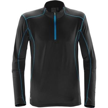 Textil Homem camisolas Stormtech Pulse Preto / Azul Elétrico