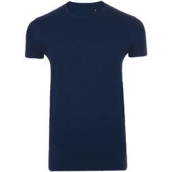 Textil Homem T-Shirt mangas curtas Sols 10580 marinha francesa