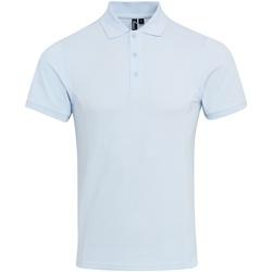 Textil Homem Polos mangas curta Premier PR630 Azul claro