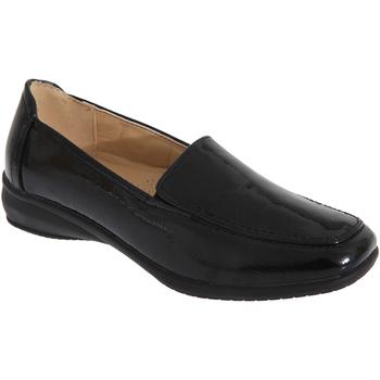 Sapatos Mulher Mocassins Boulevard  Patente negra