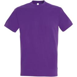 Textil Homem T-Shirt mangas curtas Sols 11500 Púrpura claro