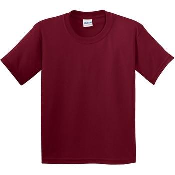 Textil Criança T-Shirt mangas curtas Gildan 5000B Cardeal