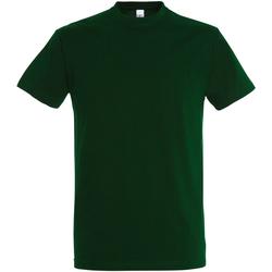 Textil Homem T-Shirt mangas curtas Sols 11500 Garrafa Verde
