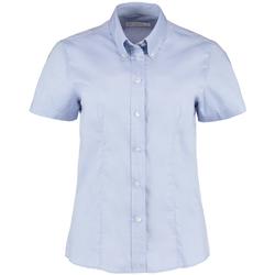 Textil Mulher camisas Kustom Kit KK701 Azul claro