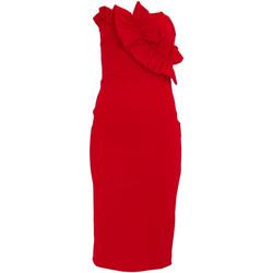 Textil Mulher Vestidos curtos Girls On Film  Vermelho