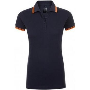 Textil Mulher Polos mangas curta Sols 10578 Marinha francesa/Neon Orange
