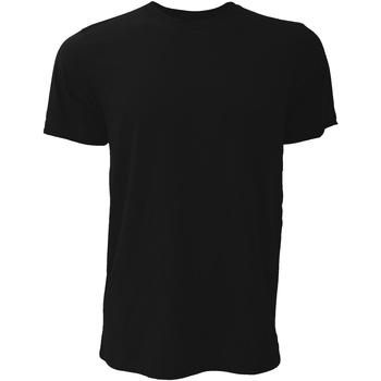 Textil Homem T-Shirt mangas curtas Bella + Canvas CA3001 Preto