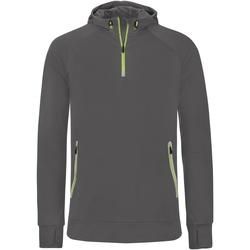 Textil Homem Sweats Proact PA360 Cinza Escuro