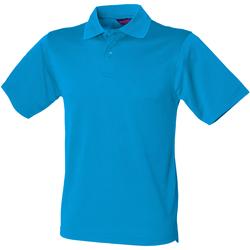 Textil Homem Polos mangas curta Henbury HB475 Sapphire Blue