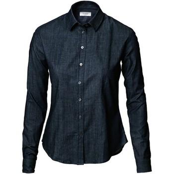 Textil Mulher camisas Nimbus NB65 Azul Índigo