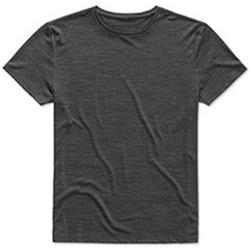 Textil Homem T-Shirt mangas curtas Stedman  Anthra Heather