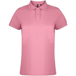 Textil Mulher Polos mangas curta Asquith & Fox  Cravos cor-de-rosa
