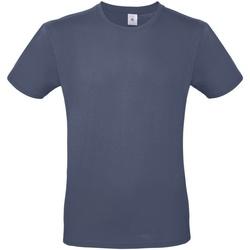 Textil Homem T-Shirt mangas curtas B And C TU01T Denim