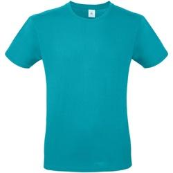 Textil Homem T-Shirt mangas curtas B And C TU01T Real Turquesa