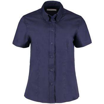 Textil Mulher camisas Kustom Kit KK701 Meia-noite na Marinha