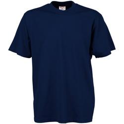 Textil Homem T-Shirt mangas curtas Tee Jays TJ8000 Azul-marinho