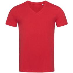 Textil Homem T-Shirt mangas curtas Stedman Stars  Pepper Red
