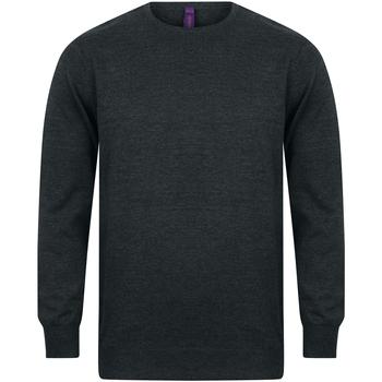 Textil Homem Sweats Henbury Gauge Grey Marl