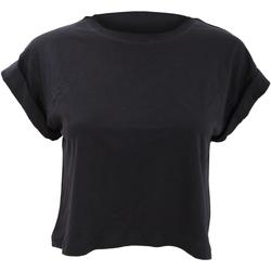 Textil Mulher T-Shirt mangas curtas Mantis M96 Preto
