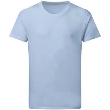 Textil Homem T-Shirt mangas curtas Sg Perfect Azul Céu