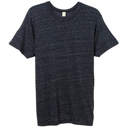 Textil Homem T-Shirt mangas curtas Alternative Apparel AT001 Eco Negro