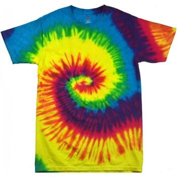 Textil Mulher T-Shirt mangas curtas Colortone Rainbow Arco-íris
