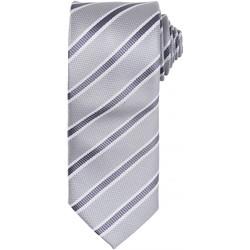 Textil Homem Gravatas e acessórios Premier  Prata/Cinza Escuro