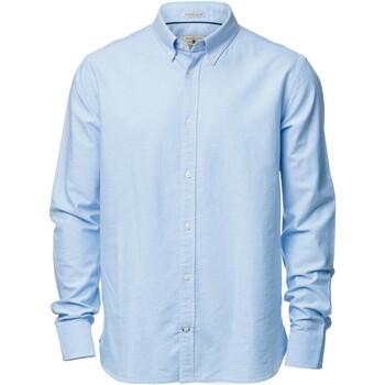 Textil Homem Camisas mangas comprida Nimbus NB45M Azul claro