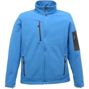 Textil Homem Casacos fato de treino Regatta Arcola Azul Francês / Cinza Selo