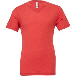 Textil Homem T-Shirt mangas curtas Bella + Canvas CA3415 Triblend vermelho claro