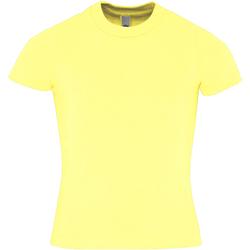 Textil Criança T-Shirt mangas curtas American Apparel AA057 Limão