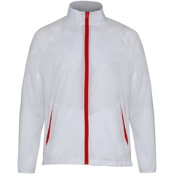 Textil Homem Corta vento 2786 TS011 Branco/ Vermelho
