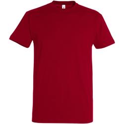 Textil Homem T-Shirt mangas curtas Sols 11500 Tango Red