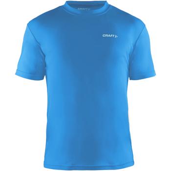 Textil Homem T-Shirt mangas curtas Craft CT086 Azul sueco