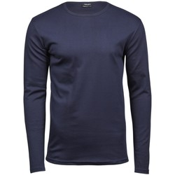 Textil Homem T-shirt mangas compridas Tee Jays TJ530 Azul-marinho