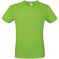 Textil Homem T-Shirt mangas curtas B And C TU01T Verde Orquídea