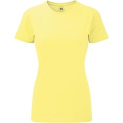 Textil Mulher T-Shirt mangas curtas Russell 165F Amarelo Marl