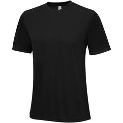 Textil Homem T-Shirt mangas curtas Awdis JC020 Jet Black
