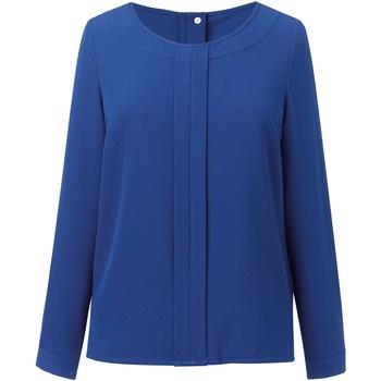 Textil Mulher Tops / Blusas Brook Taverner BR121 Royal Blue