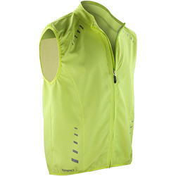 Textil Homem Casacos fato de treino Spiro S259X Neon Lime