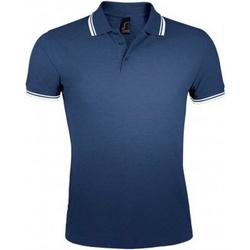 Textil Homem Polos mangas curta Sols Pasadena Marinha francesa/branca