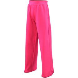 Textil Rapariga Calças de treino Awdis  Rosa Quente