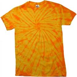 Textil T-Shirt mangas curtas Colortone Tonal Ouro Aranha