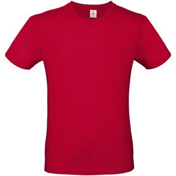 Textil Homem T-Shirt mangas curtas B And C TU01T Vermelho profundo