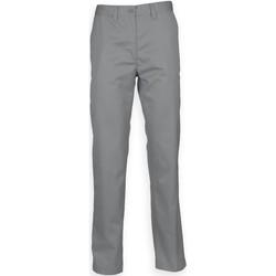 Textil Homem Chinos Henbury HB640 Cinza de aço