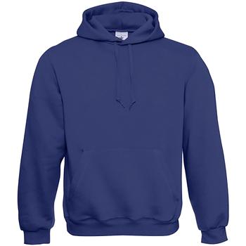 Textil Homem Sweats B And C WU620 Azul elétrico