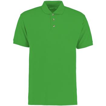 Textil Homem Polos mangas curta Kustom Kit KK400 Verde Irlandês