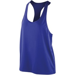 Textil Mulher Tops sem mangas Spiro SR285F Safira